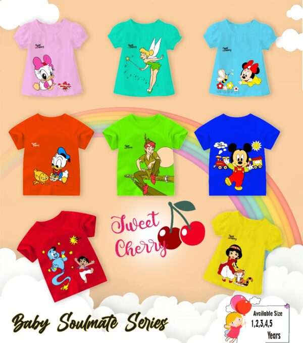 Kaos baby soulmate by sweet cherry