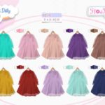 Gamis tulle doty flowkids daily