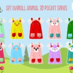 Setelan overall 3d by Catala